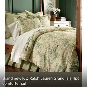 Other - New! Ralph Lauren comforter set